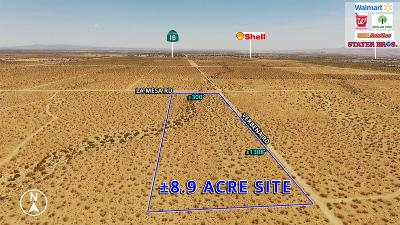 Victorville Residential Lots & Land For Sale: La Mesa Road