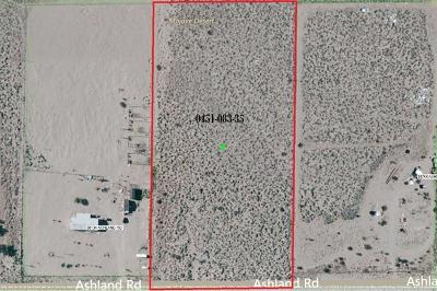 Lucerne Valley Residential Lots & Land For Sale: Ashland Road
