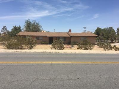 Apple Valley Single Family Home For Sale: 19284 Tomahawk Road