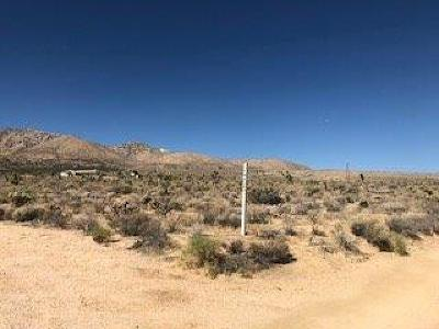 Lucerne Valley Residential Lots & Land For Sale: Santa Rosa Road