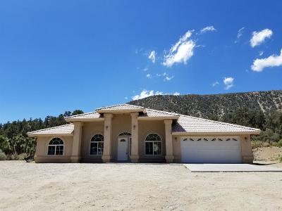 Pinon Hills Single Family Home For Sale: 7759 Sand Canyon Road
