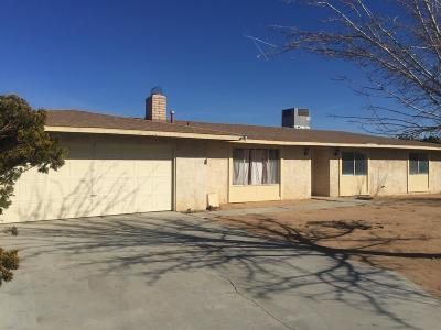 Apple Valley Single Family Home For Sale: 21922 Resoto Road