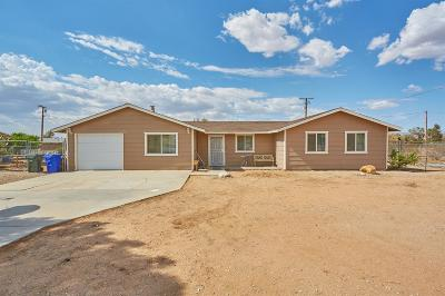 Apple Valley Single Family Home For Sale: 22394 Pahute Road