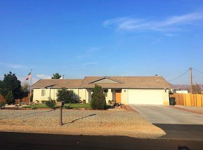 Apple Valley Single Family Home For Sale: 15219 Blackfoot Road