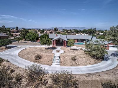 Apple Valley Single Family Home For Sale: 15492 Lenca Road
