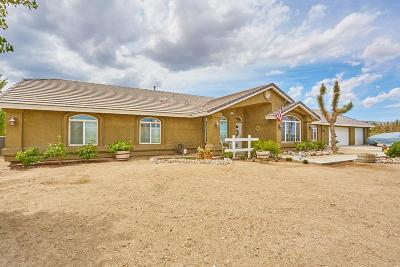 Pinon Hills Single Family Home For Sale: 257 Calaveras Road