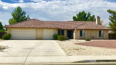 Apple Valley Single Family Home For Sale: 19171 Cochise Court