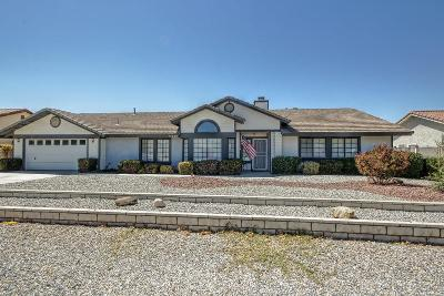 Apple Valley Single Family Home For Sale: 13530 Coachella Road