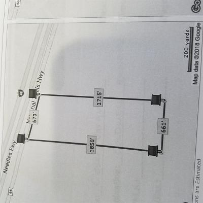 Newberry Springs Residential Lots & Land For Sale: National Trail