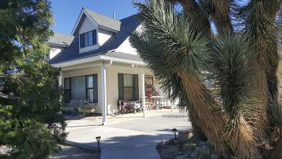 Pinon Hills Single Family Home For Sale: 2018 Spruce Street