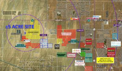 Phelan Residential Lots & Land For Sale: Maricopa Road