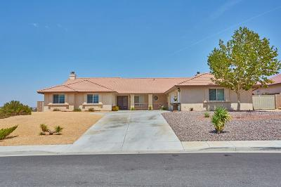Apple Valley Single Family Home For Sale: 18738 Keres Road