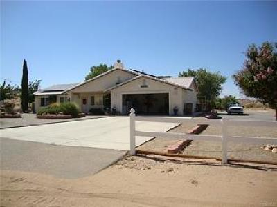 Hesperia Single Family Home For Sale: 18784 Lilac Street