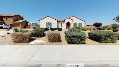 Apple Valley Single Family Home For Sale: 12698 Mar Vista Drive