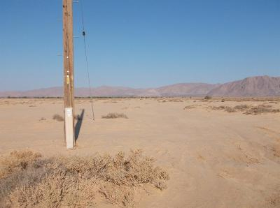 Lucerne Valley Residential Lots & Land For Sale: Amber Road