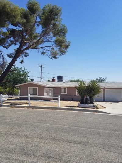 Apple Valley Single Family Home For Sale: 23889 Tocaloma Road
