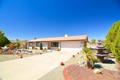 Apple Valley Single Family Home For Sale: 21814 Isatis Avenue
