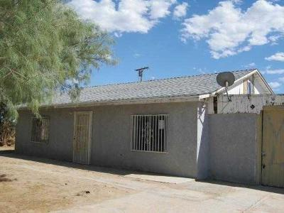 Newberry Springs CA Single Family Home For Sale: $54,900