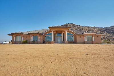 Apple Valley Single Family Home For Sale: 14322 E Japatul Road
