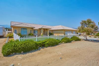 Pinon Hills Single Family Home For Sale: 1175 Smoke Tree Road