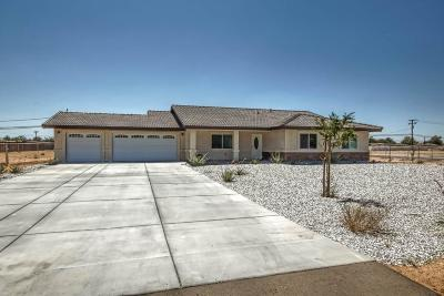 Apple Valley Single Family Home For Sale: 21065 Rancherias Road