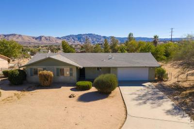 Hesperia Single Family Home For Sale: 18761 Yucca Street