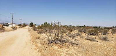 Apple Valley Residential Lots & Land For Sale: 22731 Via Seco Road