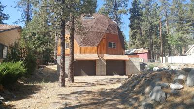 Wrightwood Single Family Home For Sale: 1745 State Highway 2 Highway