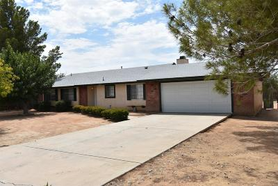 Apple Valley Single Family Home For Sale: 21709 Waalew Road