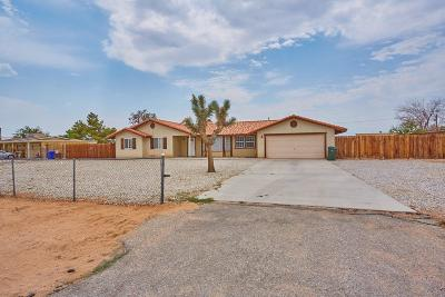 Apple Valley Single Family Home For Sale: 21349 Us Highway 18