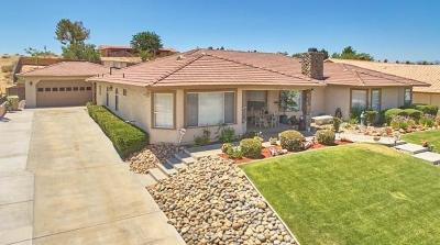 Hesperia Single Family Home For Sale: 18025 Palm Drive