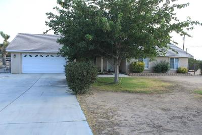 Hesperia Single Family Home For Sale: 15526 Palm Street