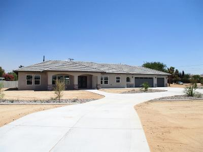 Apple Valley Single Family Home For Sale: 20165 Itasca Road