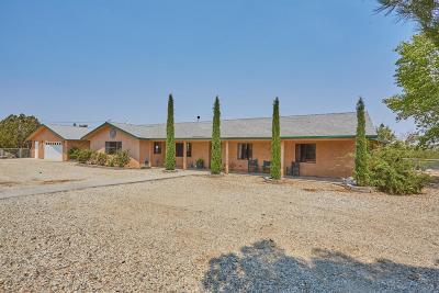 Pinon Hills Single Family Home For Sale: 1264 Smoke Tree Road