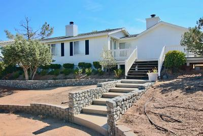 Pinon Hills Single Family Home For Sale: 8767 Deer Haven Drive