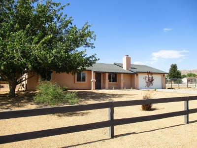 Apple Valley Single Family Home For Sale: 22672 El Centro Road