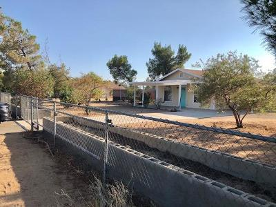 Apple Valley Single Family Home For Sale: 10822 Jamul Road