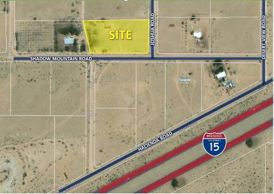 Newberry Springs Residential Lots & Land For Sale: 45942 Shadow Mountain Road