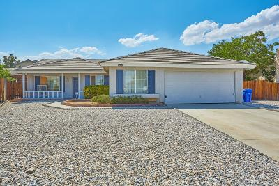 Adelanto Single Family Home For Sale: 14744 Redwood Street