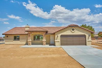 Hesperia Single Family Home For Sale: 7891 El Cerrito Street