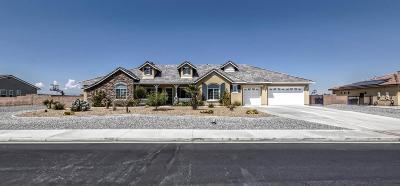 Apple Valley Single Family Home For Sale: 12366 Braeburn Road
