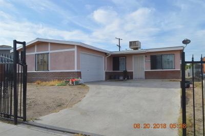 Barstow Single Family Home For Sale: 1837 Sunrise Road