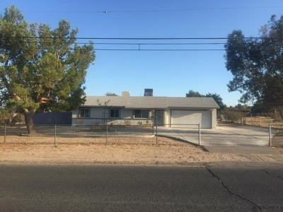 Hesperia Single Family Home For Sale: 14585 Mauna Loa Street