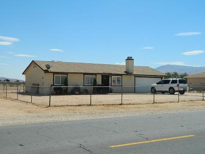 Apple Valley Single Family Home For Sale: 12647 Central Road