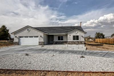 Apple Valley Single Family Home For Sale: 21568 Sitting Bull Road
