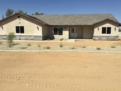 Apple Valley Single Family Home For Sale: 21110 Del Oro Road