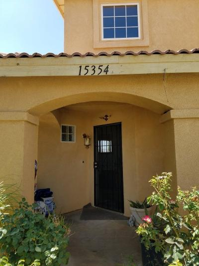 Adelanto Single Family Home For Sale: 15354 Pearmain Street