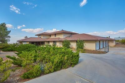 Pinon Hills Single Family Home For Sale: 8477 Snow Cap Avenue