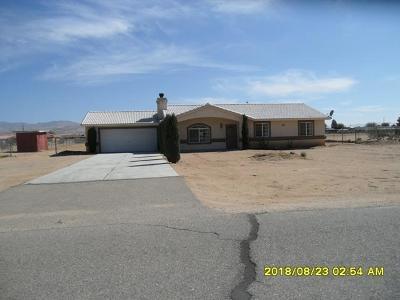 Apple Valley Single Family Home For Sale: 22775 Little Beaver Road