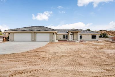 Hesperia Single Family Home For Sale: 8097 Bangor Avenue